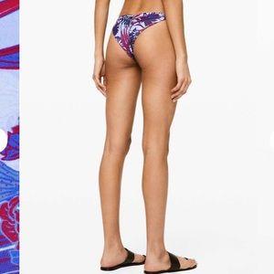 🍋Lululemon sun soaker cheeky bikini bottom